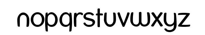 Street Warped Font LOWERCASE