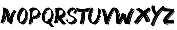 Street Wild Font UPPERCASE