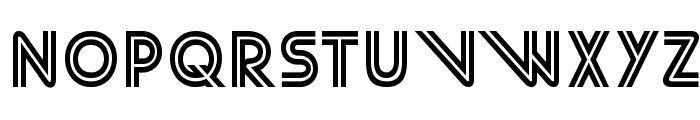 StreetCred-Regular Font UPPERCASE