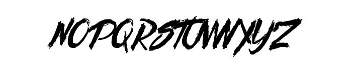 StreetGathering Font UPPERCASE