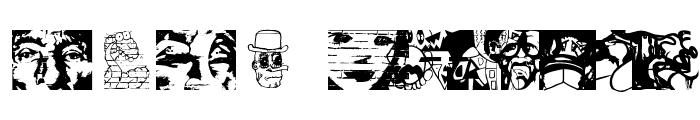 StreetGraffArts Font LOWERCASE