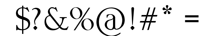 StreetVendettaDemo Font OTHER CHARS