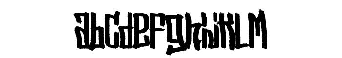 StreetVendettaDemo Font LOWERCASE
