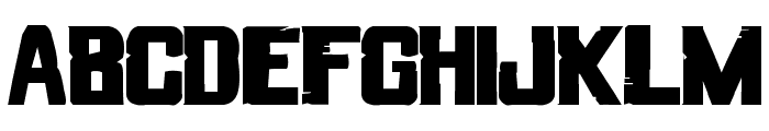 Streets of Fire Font LOWERCASE