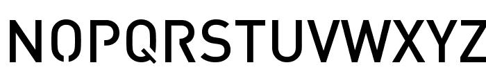 Streetvertising Medium Font UPPERCASE