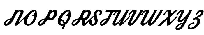 Streetwear Font UPPERCASE