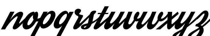 Streetwear Font LOWERCASE