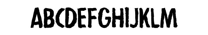 Strejka Regular Font UPPERCASE