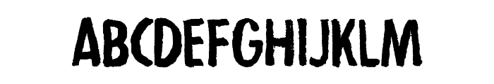 Strejka Regular Font LOWERCASE