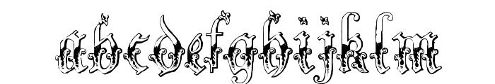 Strelsau Font LOWERCASE
