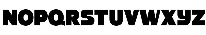 StrenuousBl-Regular Font UPPERCASE