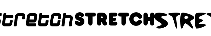 Stretch Font LOWERCASE