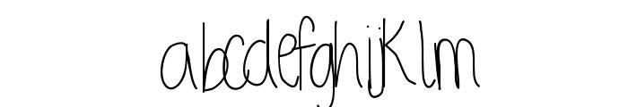 StretchingUpHigh Font LOWERCASE