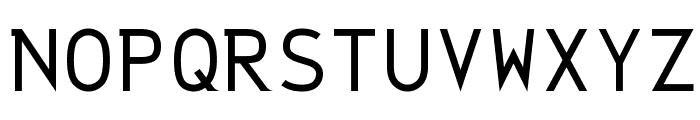 String Literal 437 Medium Font UPPERCASE
