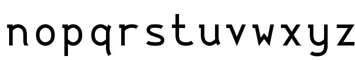 String Literal 437 Medium Font LOWERCASE