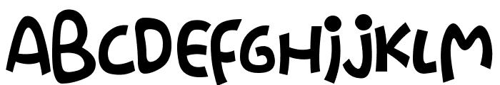 Stringz Font UPPERCASE