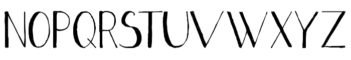 Stripe black Font UPPERCASE