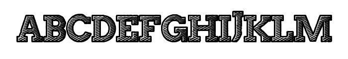StripeAttack Font UPPERCASE