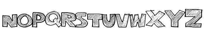 StripeFun Font UPPERCASE