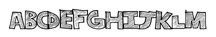 StripeFun Font LOWERCASE