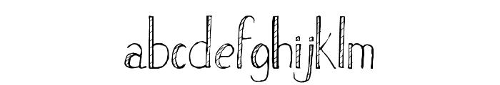 Stripe Font LOWERCASE