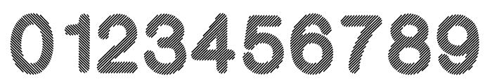 Stripy-Reg Font OTHER CHARS