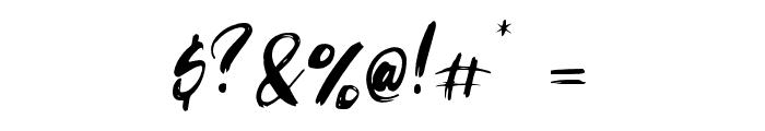 Striverx Font OTHER CHARS