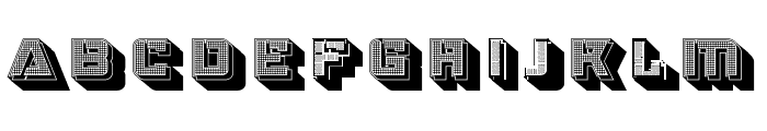 Strizhi Regular Font UPPERCASE