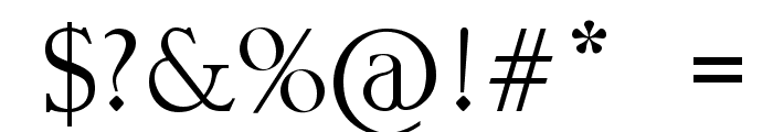 Stroke mustache Font OTHER CHARS