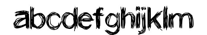 Stroke Font LOWERCASE