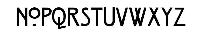 Strong Glasgow DEMO light Font LOWERCASE