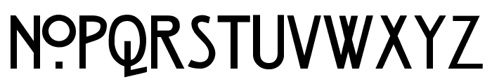 Strong Glasgow Regular Font UPPERCASE