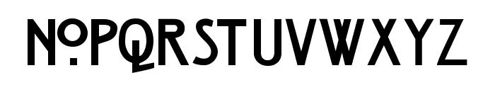 Strong Glasgow Regular Font LOWERCASE