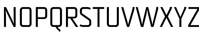 Strong-Regular Font UPPERCASE