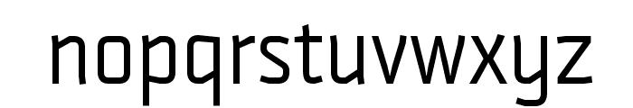 Strong-Regular Font LOWERCASE
