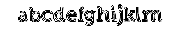 StrongEventDT Font LOWERCASE