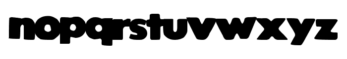 StrongVoid Font LOWERCASE