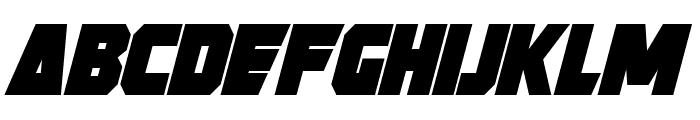 Strongarm Bold Italic Font UPPERCASE