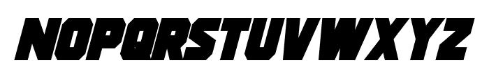 Strongarm Bold Italic Font LOWERCASE