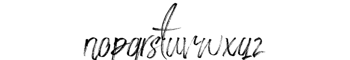 StronglovesFree Font LOWERCASE
