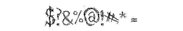 Struct-destruct Serif 3.2 Regular Font OTHER CHARS