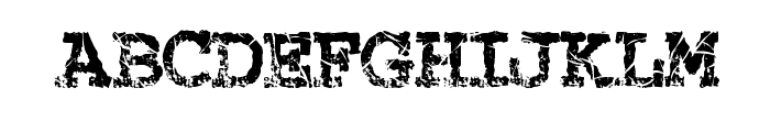 StrungPiano Font UPPERCASE