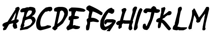 Stubborn Heartz TBS Bold Italic Font LOWERCASE