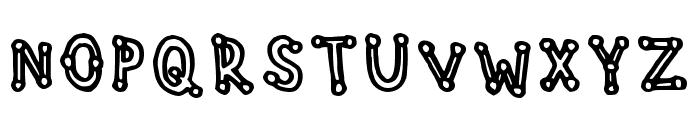 Studdedfreeline Regular Font UPPERCASE