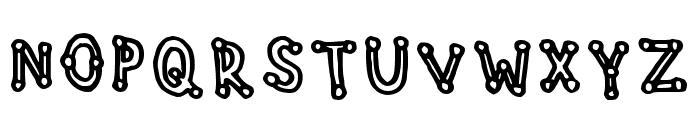 Studdedfreeline Regular Font LOWERCASE