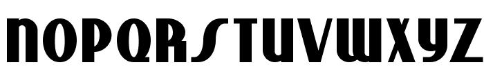 Studebaker NF Bold Font LOWERCASE