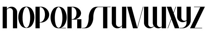 Studebaker Font UPPERCASE