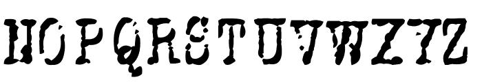Stuk Puk Font UPPERCASE
