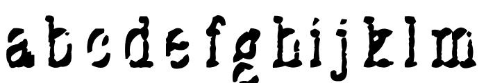 Stuk Puk Font LOWERCASE