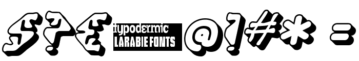 Stupefaction 3D Font OTHER CHARS